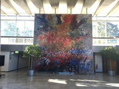 The infamous big painting at WHO